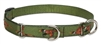"Retired Lupine Fly Away 10-14"" Combo/Martingale Training Collar - Medium Dog"