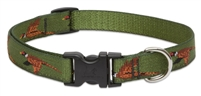 "Retired Lupine Fly Away 15-25"" Adjustable Collar - Medium Dog"