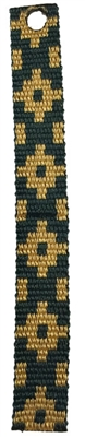 "Lupine 3/4"" Forest Gold Bookmark - Includes Matching Tassel"