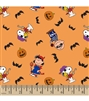 Halloween - Peanuts Characters in Costume Pleated Style Face Mask