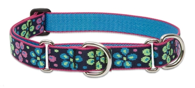 "Lupine 1"" Flower Power 19-27"" Martingale Training Collar"