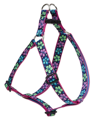 "Lupine 1"" Flower Power 19-28"" Step-in Harness"