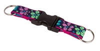 "Lupine 1"" Flower Power Buckle Keychain"