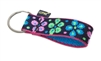 "LupinePet Originals 1"" Flower Power Keychain"