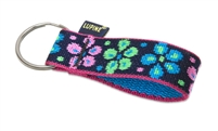 "LupinePet Originals 1"" Flower Power Key Chain"