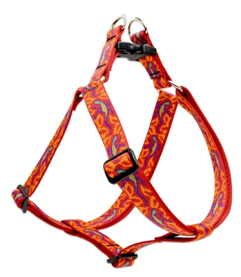"Lupine 1"" Go Go Gecko 19-28"" Step-in Harness"