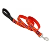 "Lupine 1"" Go Go Gecko 4' Padded Handle Leash"