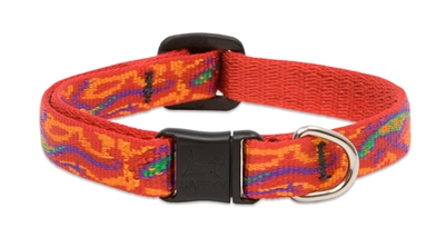 "Lupine 1/2"" Go Go Gecko Cat Safety Collar"