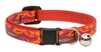 "Lupine 1/2"" Go Go Gecko Cat Safety Collar with Bell"
