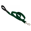 "Lupine 1"" Green 4' Padded Handle Leash"