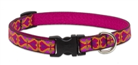 "Lupine 3/4"" Heart 2 Heart 15-25"" Adjustable Collar"