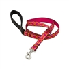 "Lupine 3/4"" Heart 2 Heart 4' Padded Handle Leash"