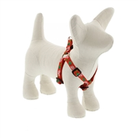 "Lupine 1/2"" Christmas Cheer 10-13"" Step-in Harness - Small Dog"