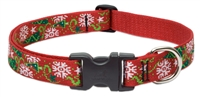 "Retired Lupine 1"" Christmas Cheer 16-28"" Adjustable Collar"