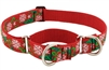 "Retired Lupine 1"" Christmas Cheer 19-27"" Martingale Training Collar"