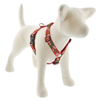 "Lupine 1"" Christmas Cheer 24-38"" Roman Harness"