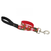 "Holiday Lupine 1"" Christmas Cheer 2' Traffic Lead - Large Dog"