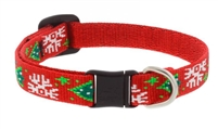 Lupine Christmas Cheer Cat Safety Collar with Bell