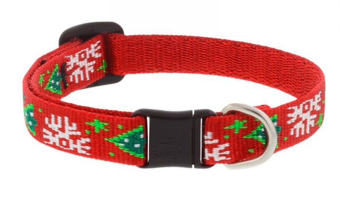 lupinepet christmas cheer safety cat collar