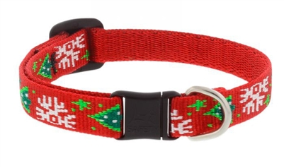 "Lupine 1/2"" Christmas Cheer Cat Safety Collar"