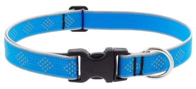 "Lupine High Lights 1"" Blue Diamond 12-20"" Adjustable Collar"