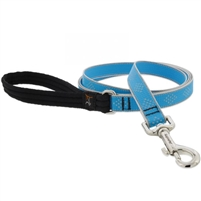 "Lupine High Lights 3/4"" Blue Diamond 6' Padded Handle Leash"