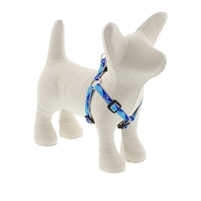 "Lupine High Lights 1/2"" Blue Paws 10-13"" Step-in Harness"
