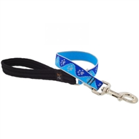 "Lupine High Lights 1"" Blue Paws 2' Traffic Lead"