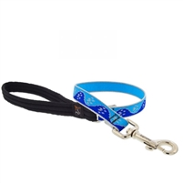 "Lupine High Lights 3/4"" Blue Paws 2' Traffic Lead"