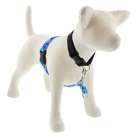 "Lupine High Lights 1"" Blue Paws 26-38"" No-Pull Harness"