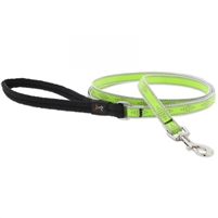 "Lupine High Lights 1/2"" Green Diamond 6' Padded Handle Leash"