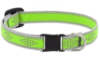 "Lupine High Lights 1/2"" Green Diamond Cat Safety Collar"