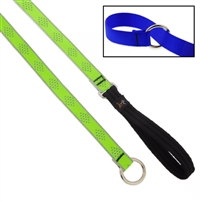 "Lupine High Lights 3/4"" Green Diamond Slip Lead - Medium Dog"