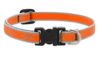 "Lupine High Lights 1"" Orange Diamond 12-20"" Adjustable Collar"