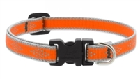 "Lupine High Lights 1/2"" Orange Diamond 8-12"" Adjustable Collar"