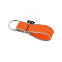 "Lupine High Lights 1"" Orange Diamond Keychain"
