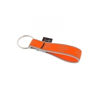"Lupine High Lights 3/4"" Orange Diamond Keychain"