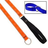 "Lupine High Lights 1"" Orange Diamond Slip Lead"