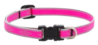 "Lupine High Lights 1/2"" Pink Diamond 10-16"" Adjustable Collar"