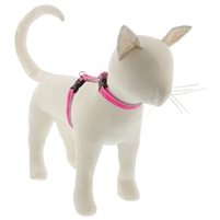 "Lupine High Lights 1/2"" Pink Diamond 12-20"" H-Style Cat Harness"