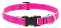 "Lupine High Lights 3/4"" Pink Diamond 9-14"" Adjustable Collar"