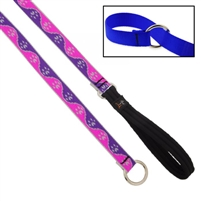 "Lupine High Lights 3/4"" Pink Diamond Slip Lead - Medium Dog"