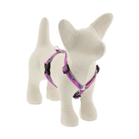 "Lupine High Lights 1/2"" Pink Paws 12-20"" Roman Harness"