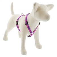 "Lupine High Lights 3/4"" Pink Paws 12-20"" Roman Harness"