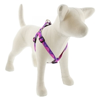 "Lupine High Lights 3/4"" Pink Paws 20-30"" Step-in Harness"