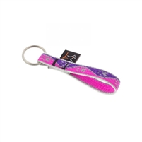 "Lupine High Lights 1/2"" Pink Paws Keychain"