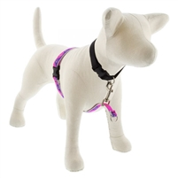"Lupine High Lights 3/4"" Pink Paws 16-26"" No-Pull Harness"