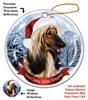 Afghan Holiday Ornament - Made in the USA