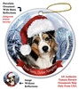 Australian Shepherd Holiday Ornament - Made in the USA