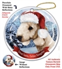 Bedlington Terrier (Sandy) Holiday Ornament - Made in the USA